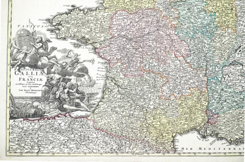 Carte De France Du 18ème Siècle-photo-2