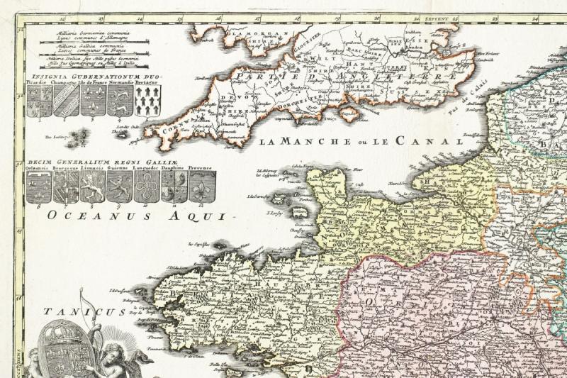 Carte De France Du 18ème Siècle-photo-3