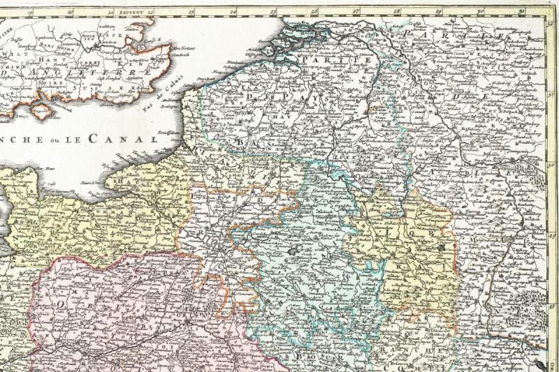Carte De France Du 18ème Siècle-photo-4
