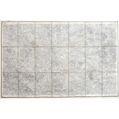 Carte Ancienne De Limoges