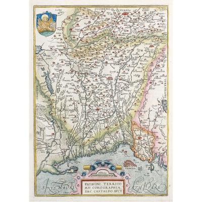 Carte Géographique Ancienne De Venise