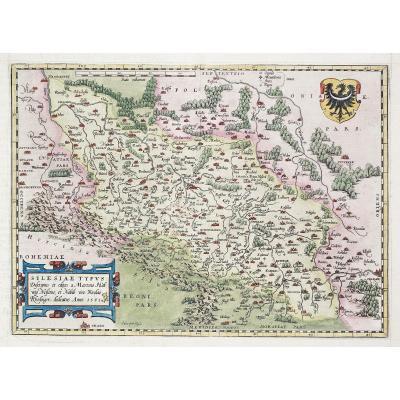 Carte Géographique Ancienne De l'Allemagne
