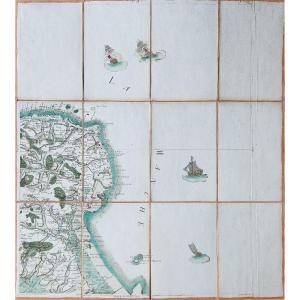 Carte Ancienne De La Hougue Et Barfleur – Cassini