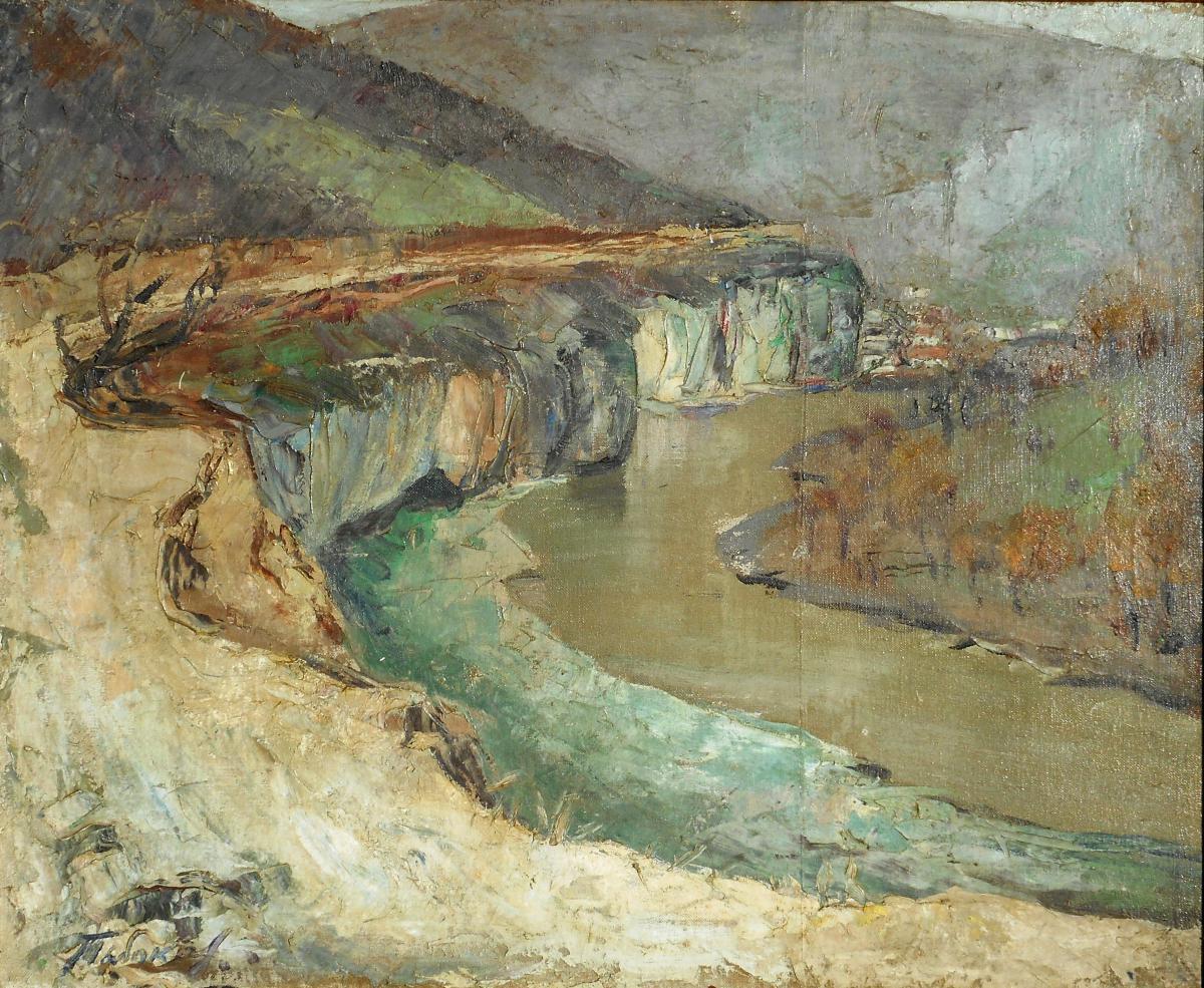 IVAN TABAKOV (1901/1977) peintre RUSSE-photo-2