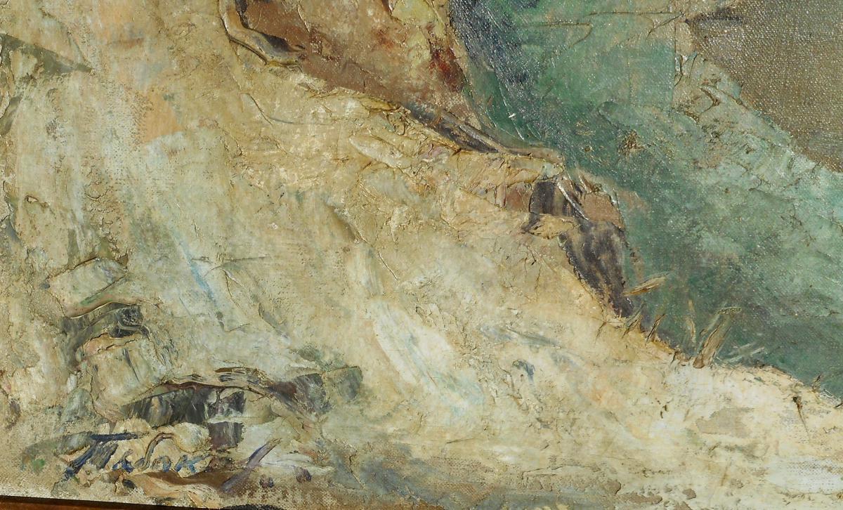 IVAN TABAKOV (1901/1977) peintre RUSSE-photo-3