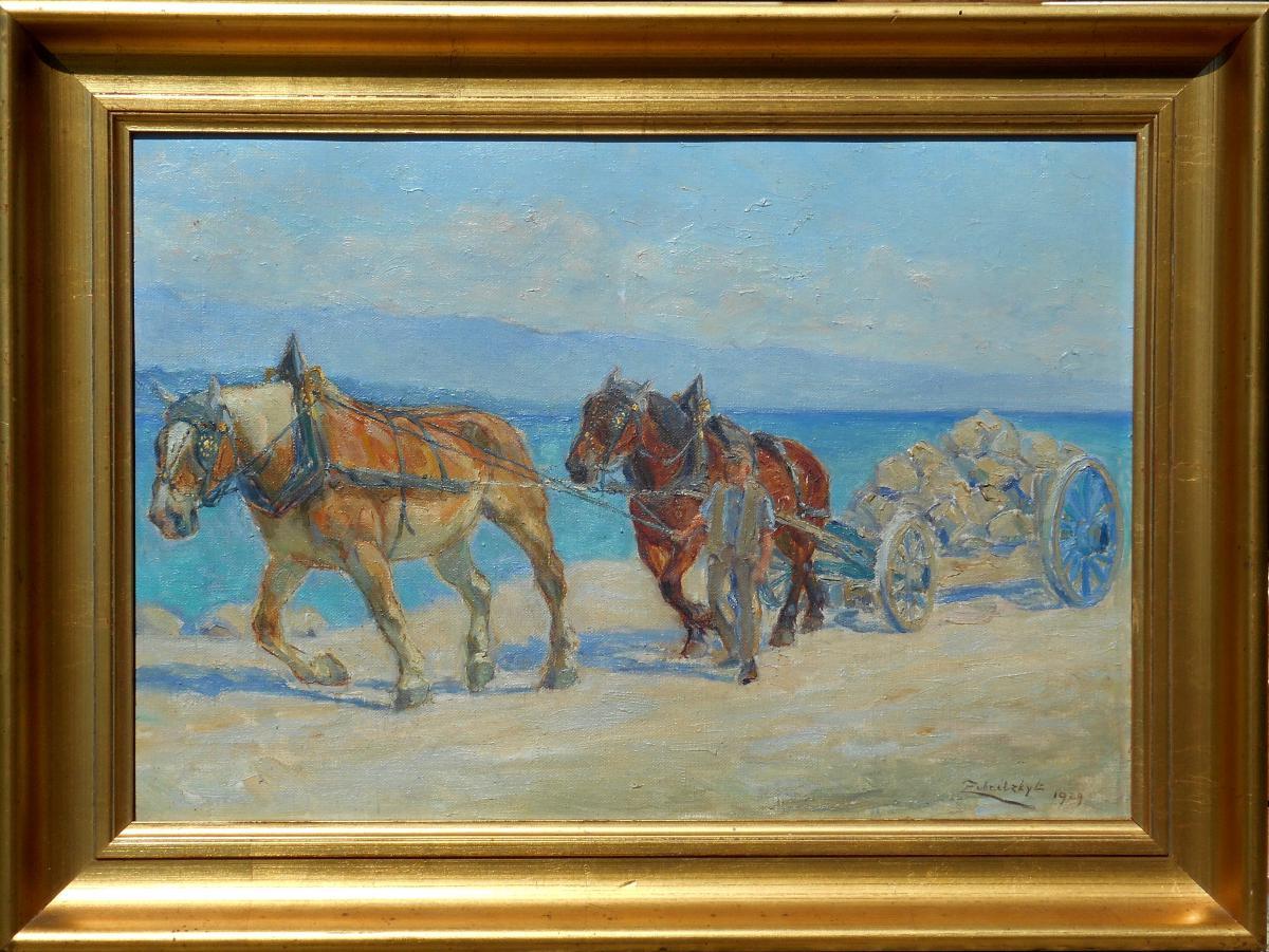 LORAND ZUBRICZKY-ZUBRITZKY (1869/1948) HONGRIE-SUISSE-Genève