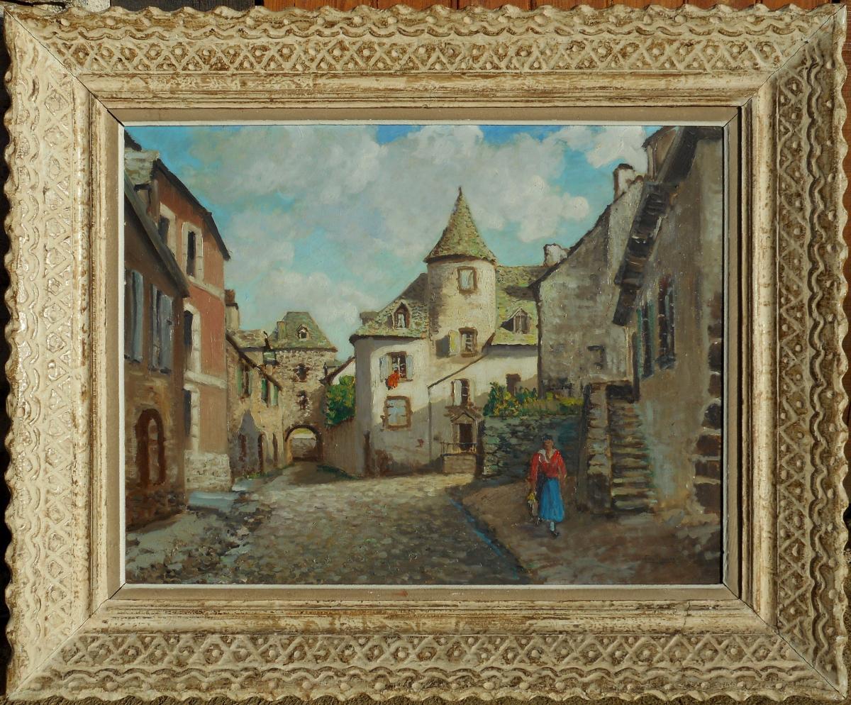 Eugène Camille LAMBERT(1871/1948) SALERS CANTAL maison BERTRANDY