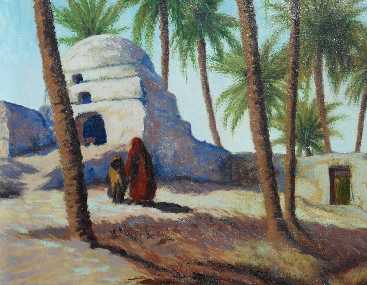 Gaston Fontaine (1907/1999) Morocco - Gharb Around 1937-photo-3