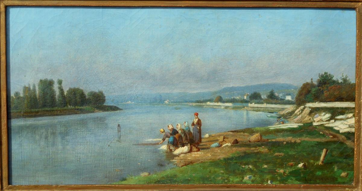 Frédéric LEGRIP (1817-1871) Carrières-Sous-Bois 1863