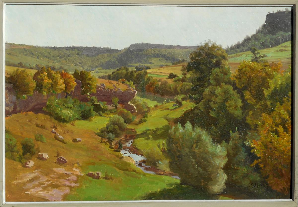 CHARLES ABRAM (1851-1936) BELFORT-Franche-Comté - Besançon