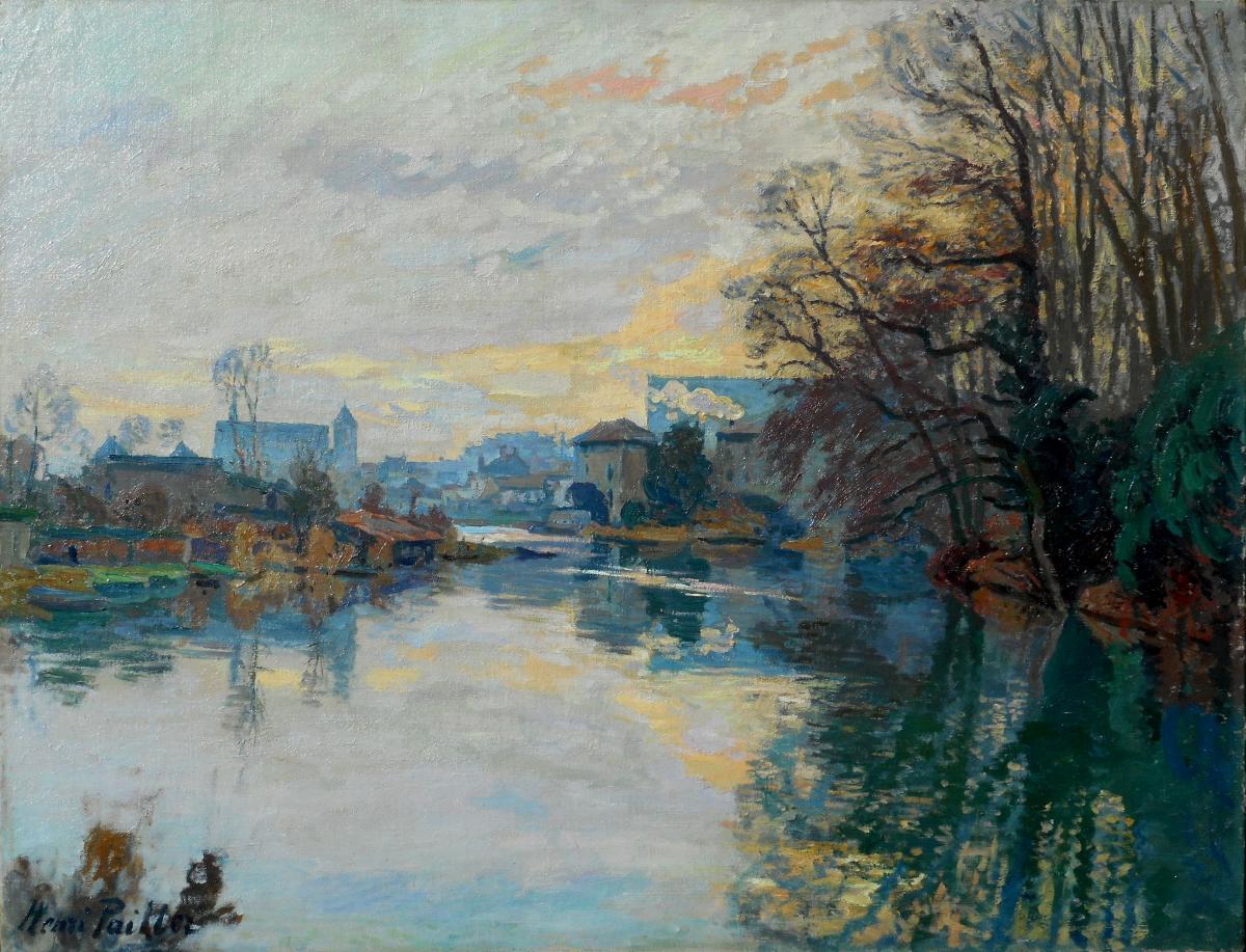 Henri Pailler (1876/1954) Crozant Poitiers 1908