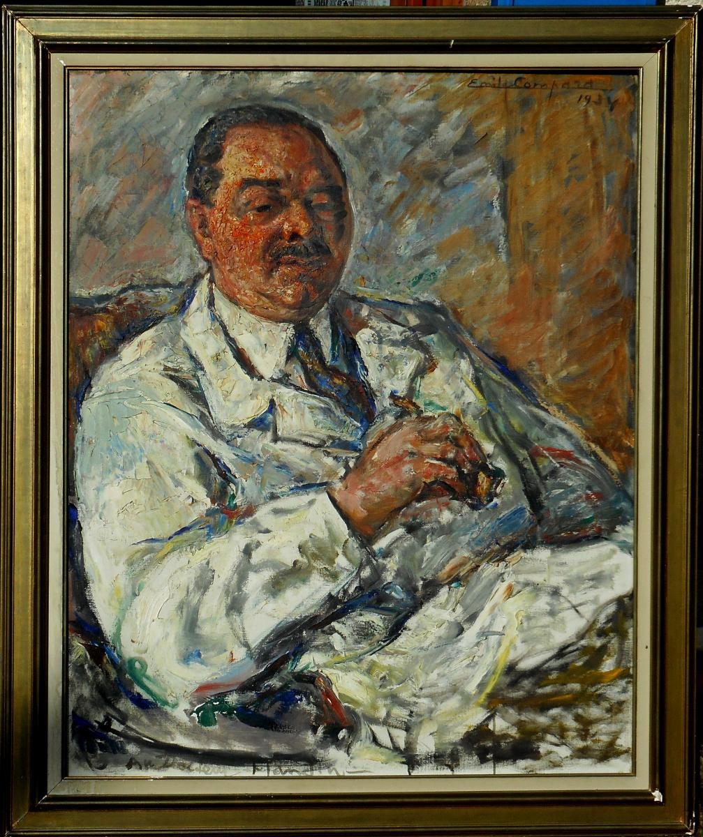 Emile COMPARD (1900/1977) Dr FLANDIN 1934