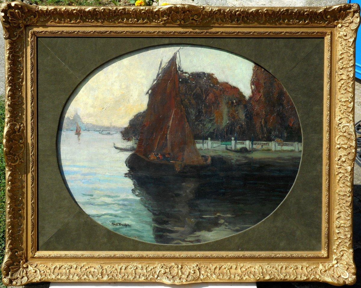 Louis Abel-truchet (1857/1918) Venice - French Gardens