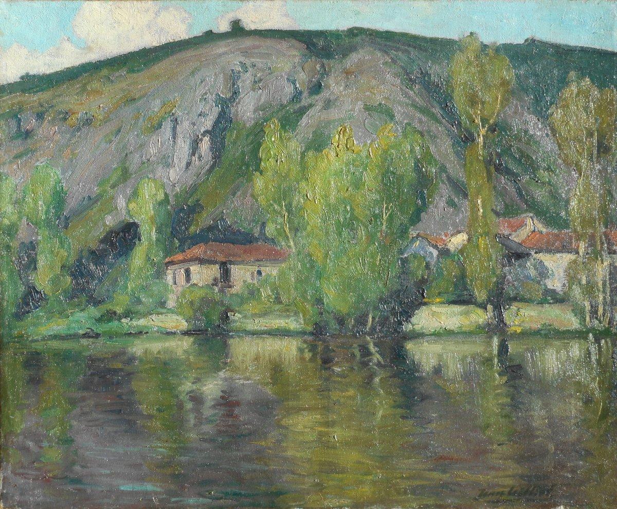 JEAN TEILLIET (1870-1931) St JUNIEN - St GERMAIN de CONFOLENS -LIMOGES
