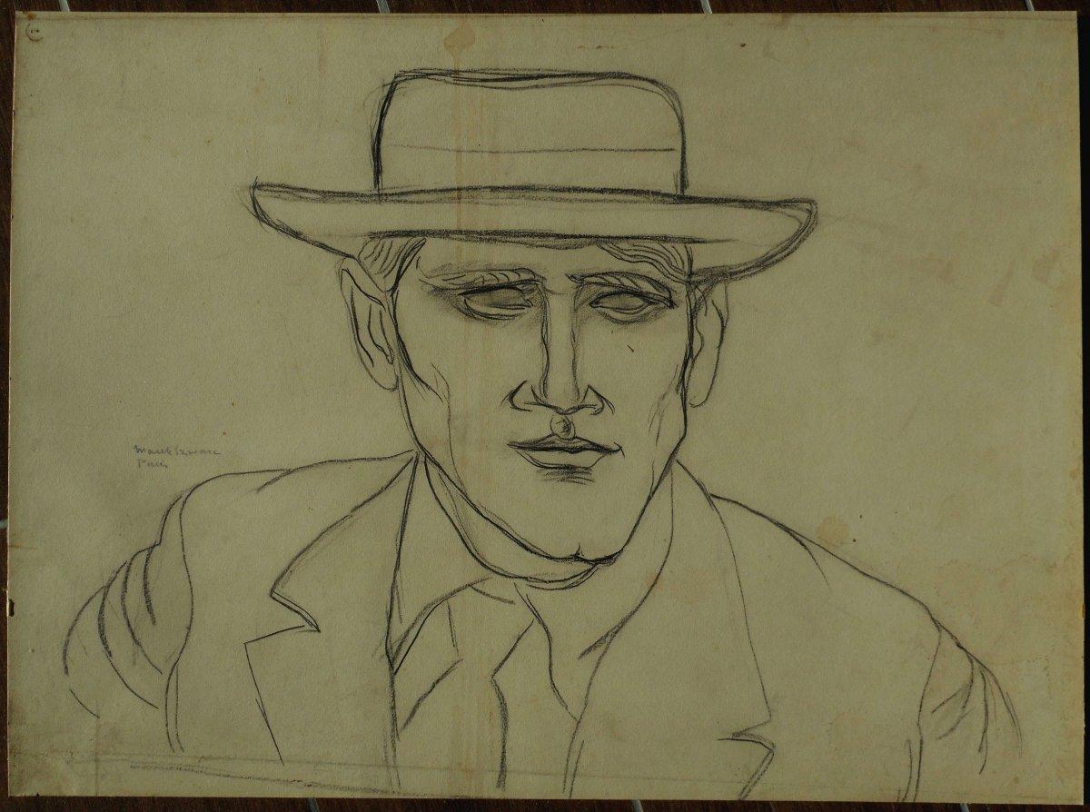MAREK  SZWARC ( 1892-1958) ecole de PARIS - peintre et sculpteur polonais -POLOGNE
