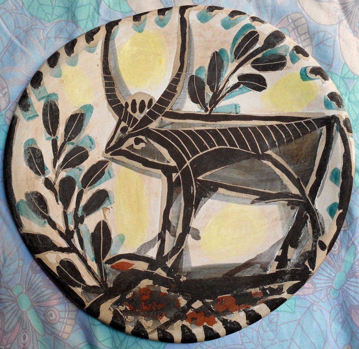 plat ceramique diamètre 38cm