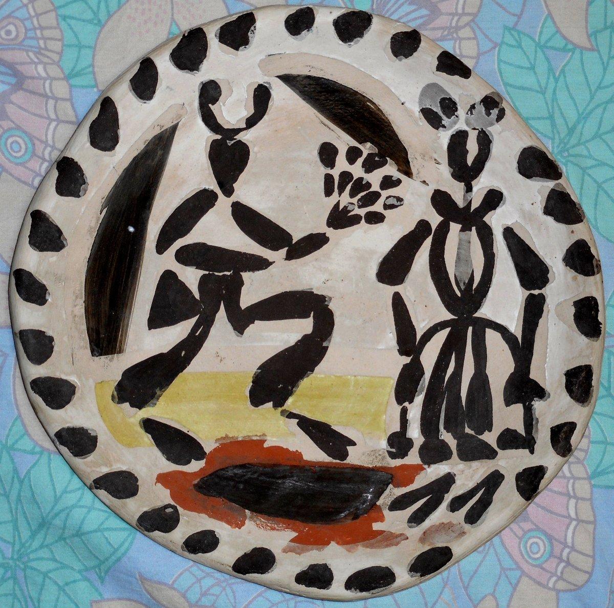 plat ceramique diamètre 30cm