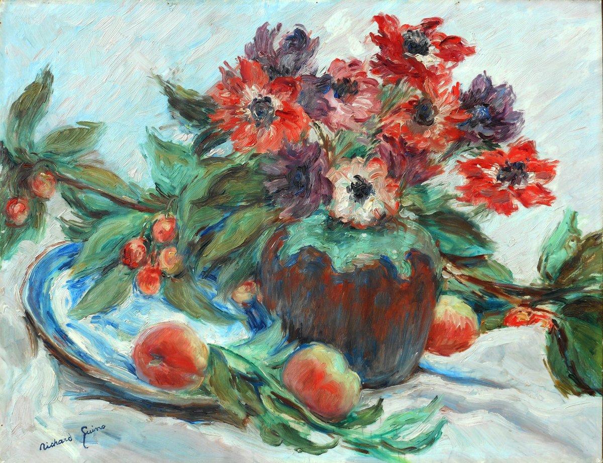 Richard GUINO (1890-1973) -  AUGUSTE  RENOIR