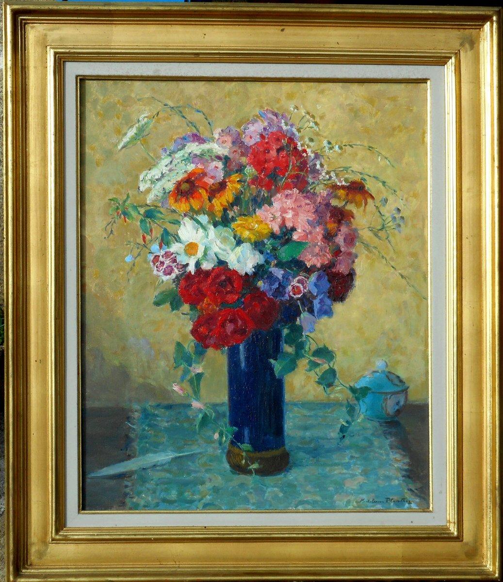 Madeleine Plantey (1890-1985) Hst 61x50cm -lyon