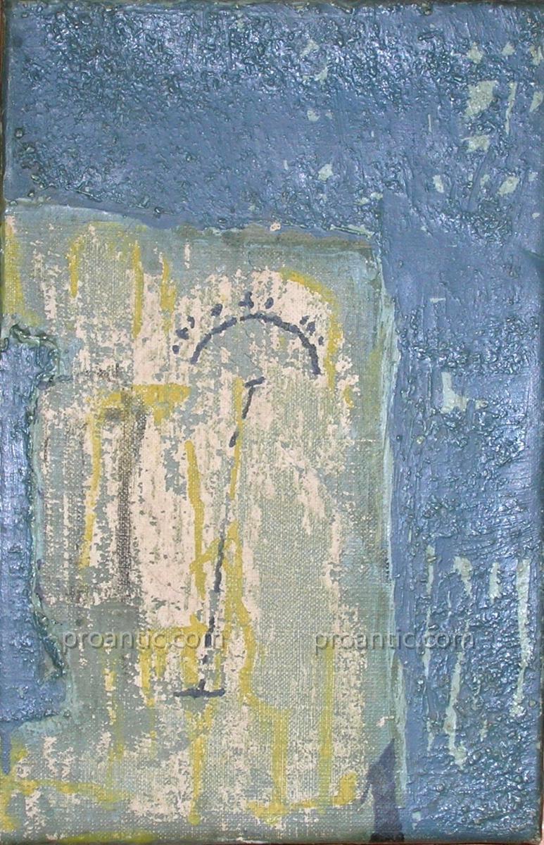 ALBERT  BITRAN né en 1929 HST 21x14cm