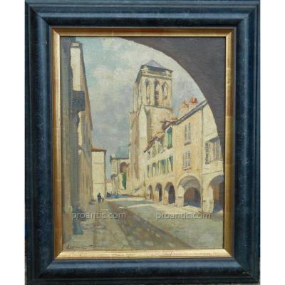 CHRISTIAN  COUILLAUD (1904/1964) LA ROCHELLE