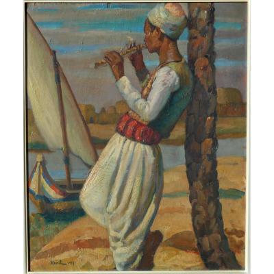 GIUSEPPE SEBASTI (1900/1961) EGYPTE 1933-ALEXANDRIE-LE CAIRE