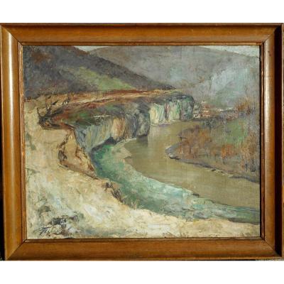 IVAN TABAKOV (1901/1977) peintre RUSSE