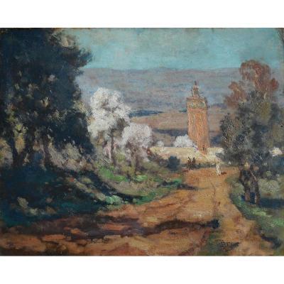 PAUL SURTEL (1893/1985) ALGERIE - CROZANT