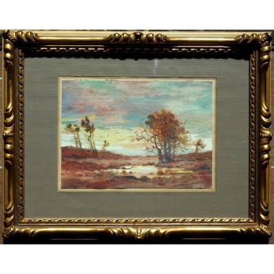 CHARLES CLEMENT PERRON (1893/1958) NANTES PREFAILLES