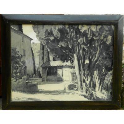 Albert DEQUENE (LILLE 1897/1973) NICE 1935