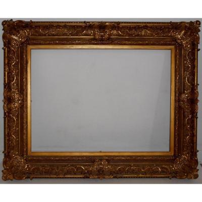 CADRE ANCIEN XIXé pour tableau 60x81cm