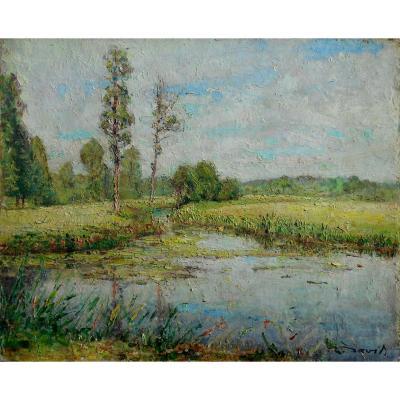 RAOUL DAVID (1876-1950) Vitré - RENNES -BRETAGNE