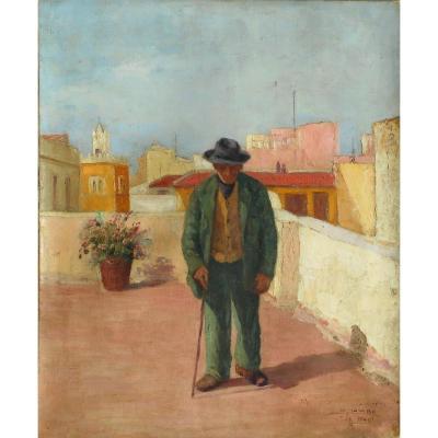 SALVATORE PALUMBO (XXé) ITALIE -TUNISIE