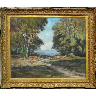 Solange CHRISTAUFLOUR (1899/1952)ecole de CROZANT-MAILLAUD