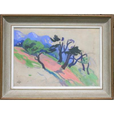 GASTON CANTIN (1881/1967) POITIERS- LIMOGES- ANTIBES