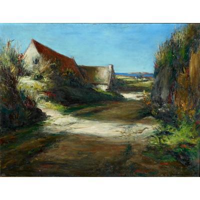 Georges Hanna Sabbagh (1887/1951) Tregastel Brittany Crozant (guillaumin - Detroy - Osterlind)