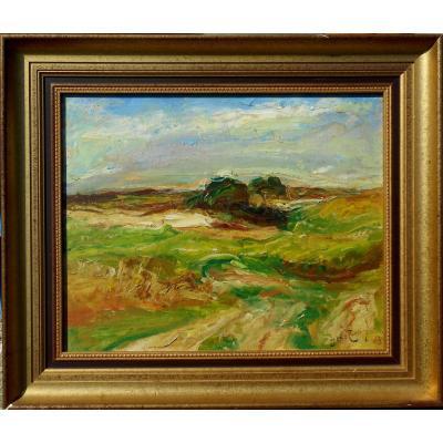 Joseph Le Tessier (1867/1949) - 2 Hsc  - La Marne Valley - Lyon