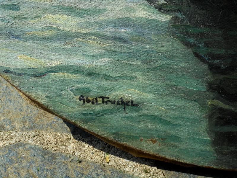 Louis Abel-truchet (1857/1918) Venice - French Gardens-photo-4