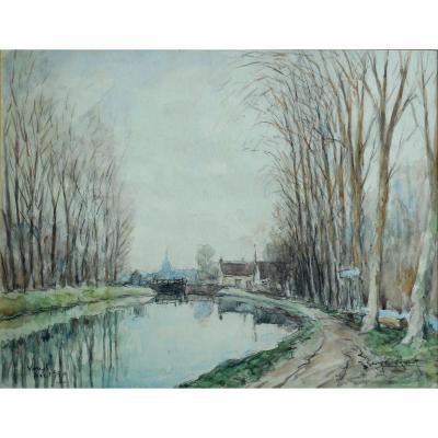 Georges ROSE (1895-1951) NARGIS (LOIRET) 1950