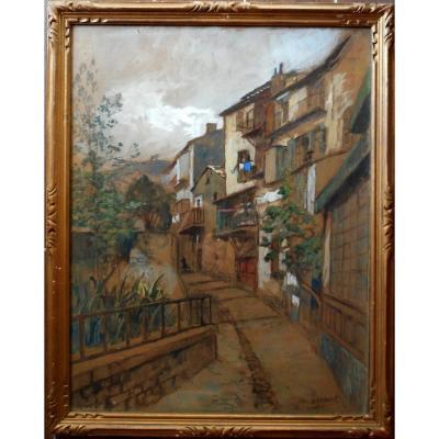 HENRI JAMET (1858-1921) CROZANT GARGILESSE - expo à GIEN jusqu'au 16/02/2020 Villefranche s/mer