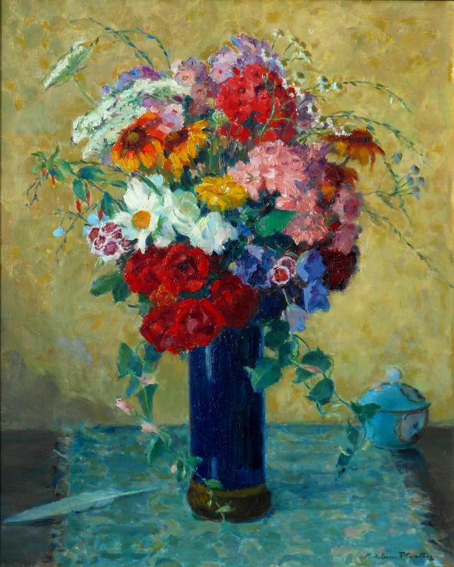 Madeleine Plantey (1890-1985) Hst 61x50cm -lyon-photo-2
