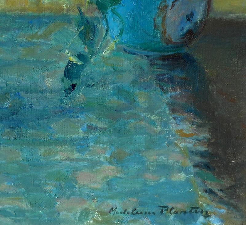 Madeleine Plantey (1890-1985) Hst 61x50cm -lyon-photo-3