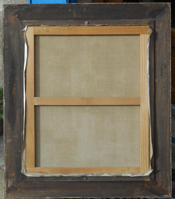 Madeleine Plantey (1890-1985) Hst 61x50cm -lyon-photo-4