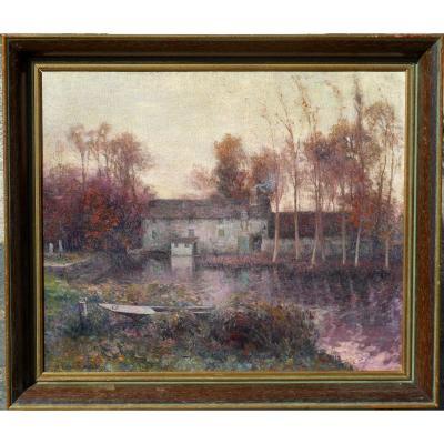 MICHEL  KOROCHANSKY (1866-1925) HST 46x55cm