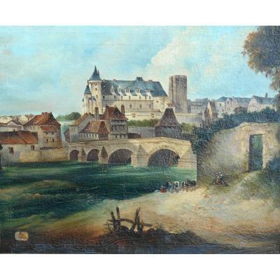 PAU vers 1825-1830 - BEARN -HST 95x63cm -Béarn