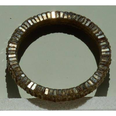 BRACELET en TALOSEL - LINE VAUTRIN  ( diamètre intérieur 7cm - extérieur 8,5cm)