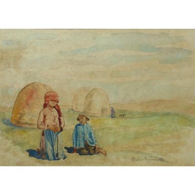 Pavel Kuznetsov (1867-1968) Russian Painter - Russia