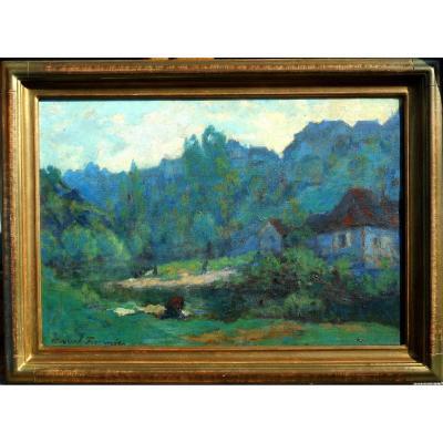Marcel Fournier (1869 - 1917) Crozant - Creuse - Allier - Auvergne