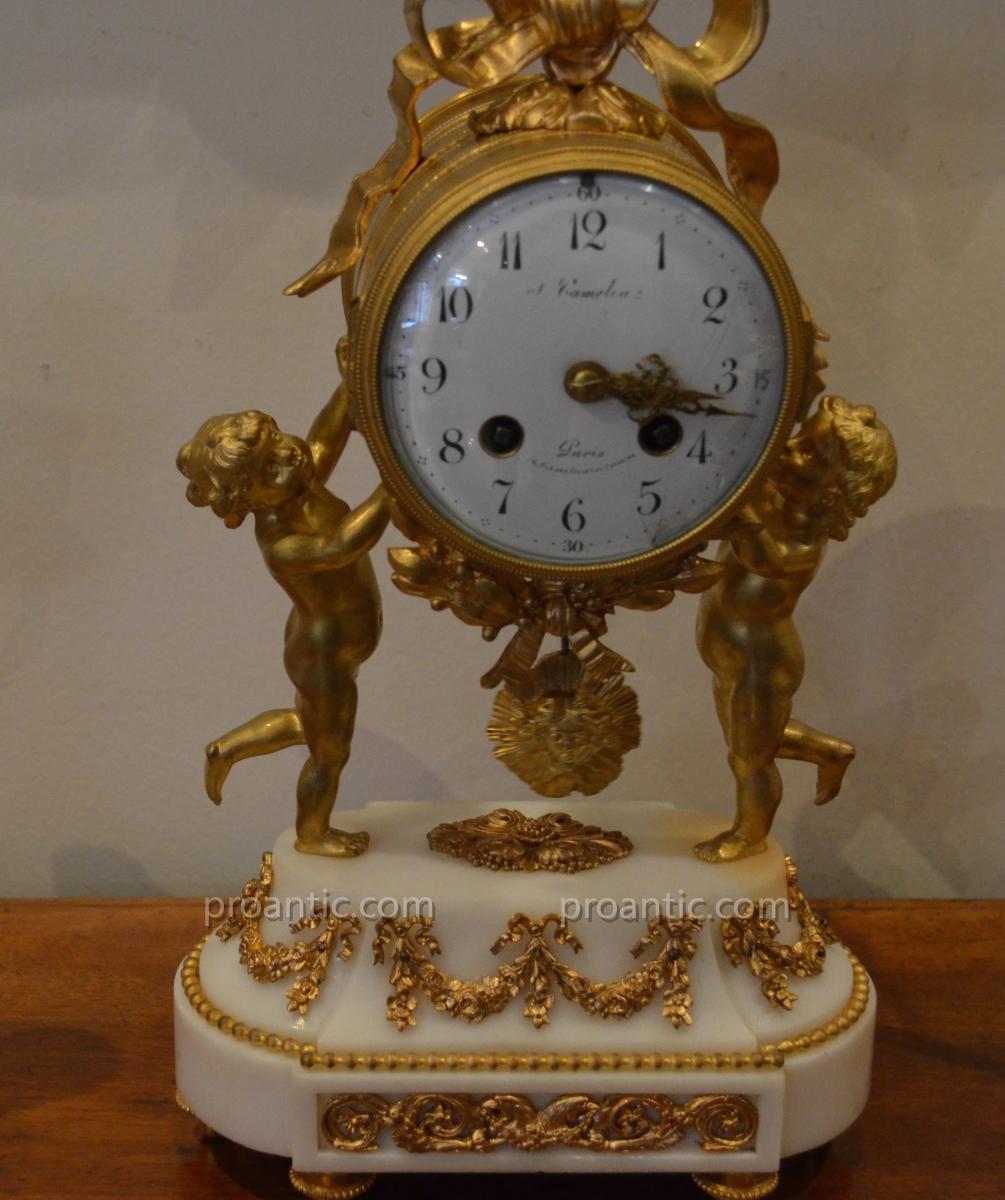 """Garniture De Cheminée De Style Louis XVI"""""""""""""""