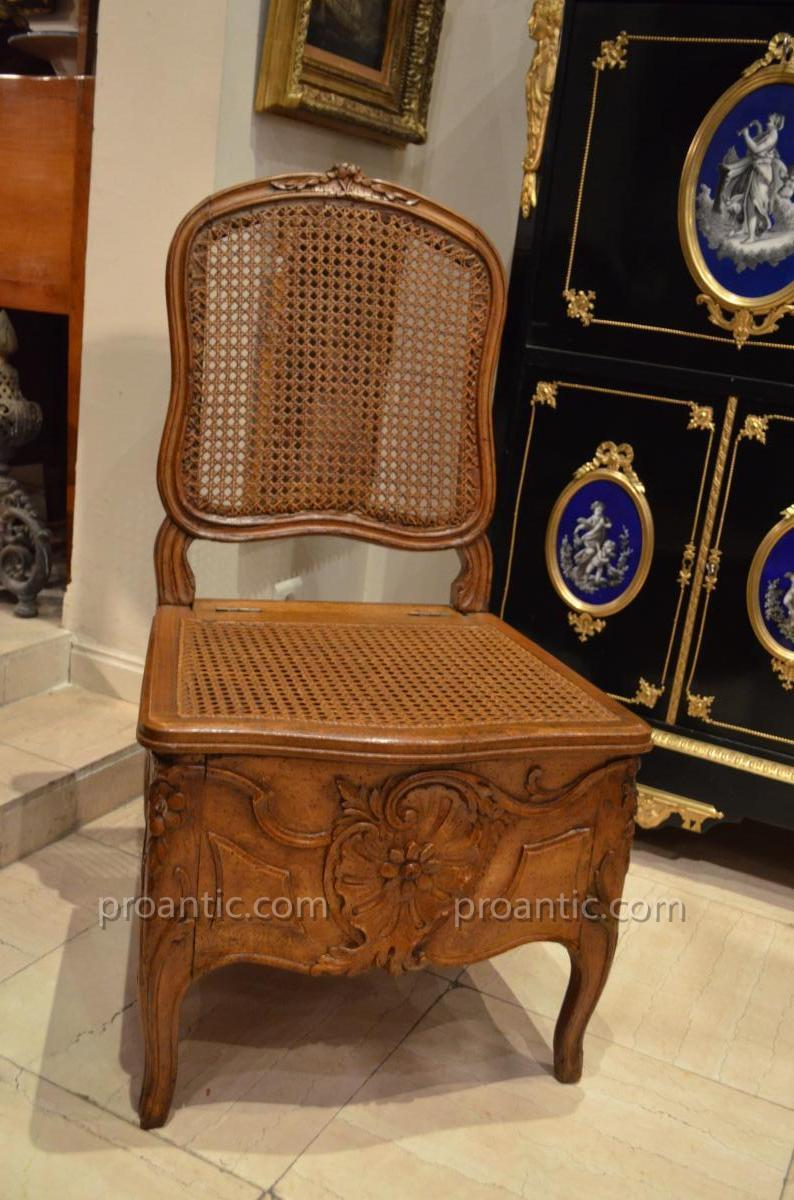 """""""commodity Chair Louis XV"""